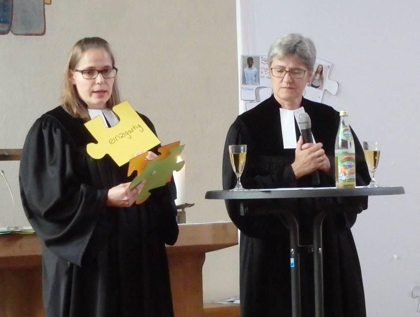 wo tauchen meine Wünsche im Konfi-Kurs auf? Dialogpredigt mit Vikarin Meiser und Pfrin Zellfelder