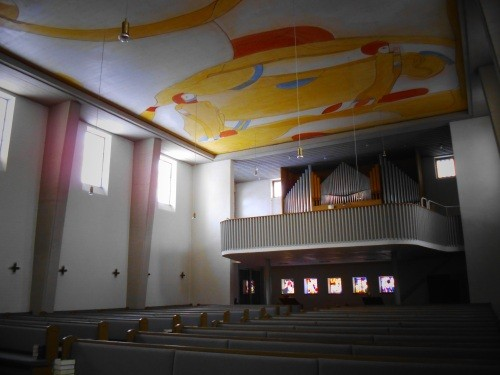 Kirche in der Sonne